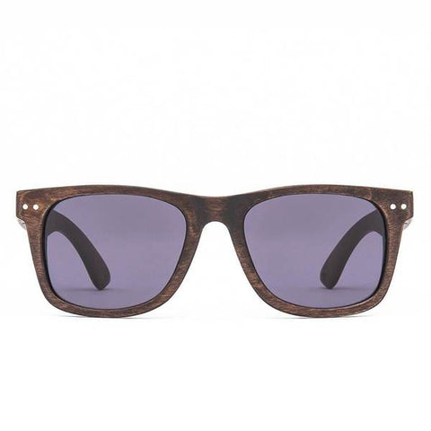 Proof - Grove Wood Ebony Zebra Sunglasses / Polarized Lenses