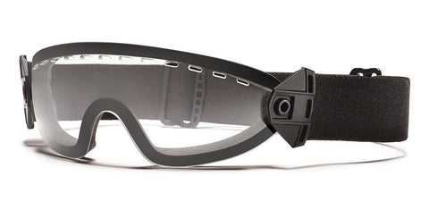 Smith - Boogie Soep Black Snow Goggles / Clear Lenses