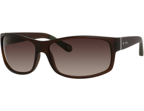 Fossil - 3036  Brown  Sunglasses / Warm Brown Gradient  Lenses