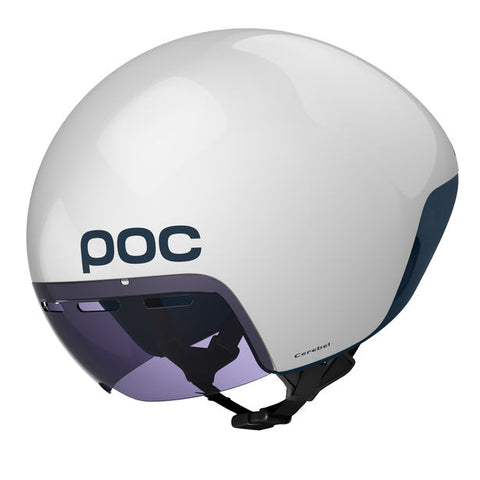 POC - Cerebal Raceday Hydrogen White Bike Helmet