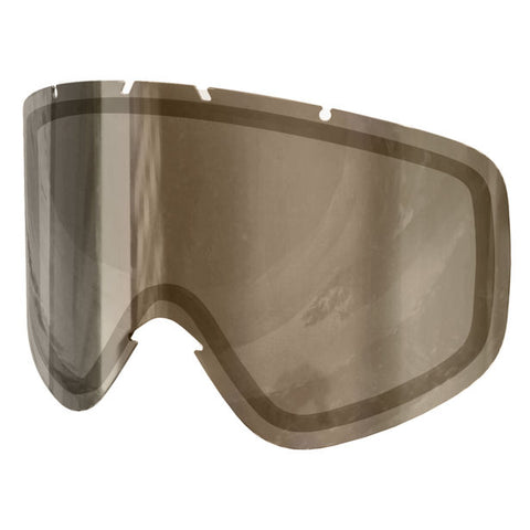POC - Iris NXT Photo Archive 1.22mm Medium Brown + Silver Mirror Snow Goggle Replacement Lens