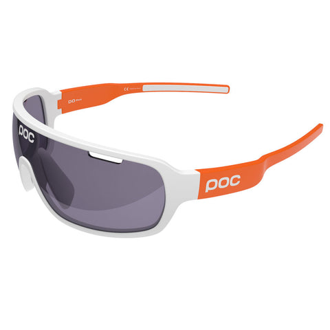 POC - DO Blade AVIP Hydrogen White + Zink Orange Sunglasses / Violet Lenses