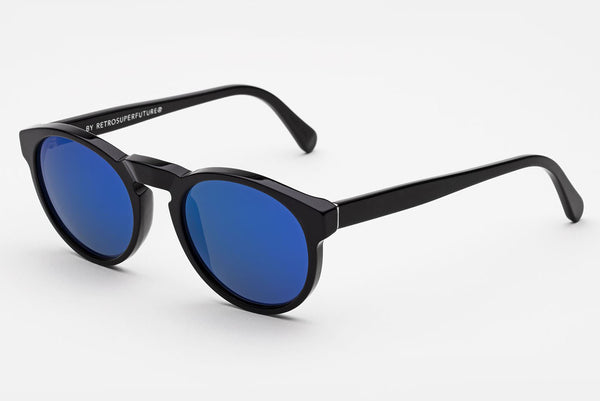 Super - Paloma Black Blue Sunglasses