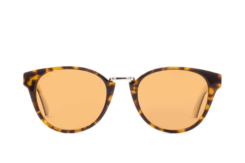 Proof - Ada Eco Yellow Tortoise Sunglasses / Brown Polarized Lenses
