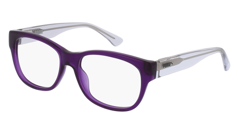 Puma - PU0197S Burgundy Sunglasses / Blue Lenses