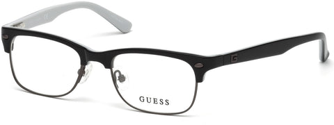 Guess - GU9174 Shiny Black Eyeglasses / Demo Lenses