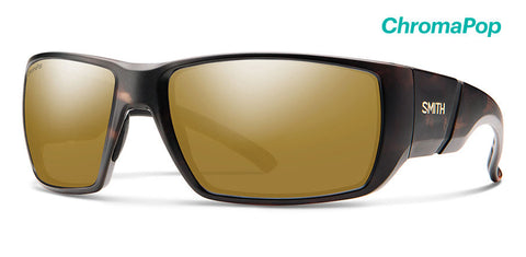 Smith - Transfer XL Matte Tortoise Sunglasses / ChromaPop Polarized Bronze Mirror Lenses