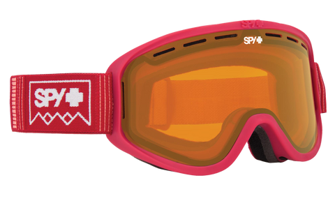 Spy - Woot Deep Winter Blush Snow Goggles / Persimmon Lenses