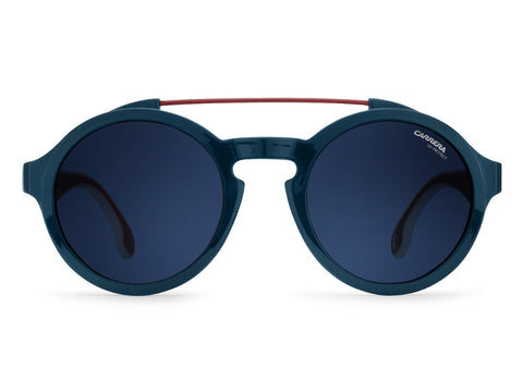 Carrera - 1002 Blue White Sunglasses / Blue Avio Lenses