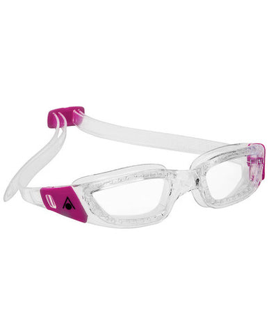 Aqua Sphere - Kameleon Ladies Transparent Pink Accents Swim Goggles / Clear Lenses