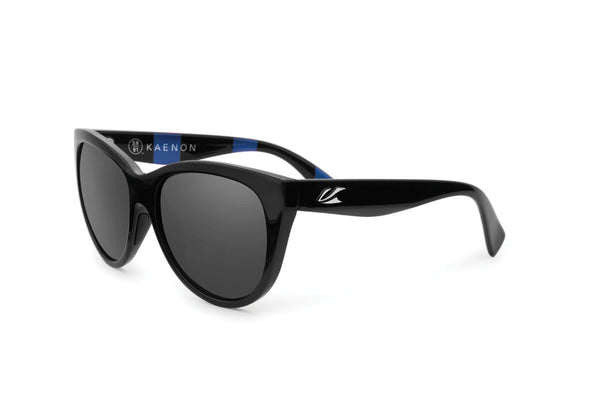 Kaenon - Palisades Modern Black Sunglasses, G12 Grey Lenses