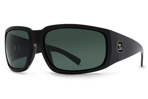 VonZipper - Palooka Black BKV Sunglasses, Vintage Grey Lenses