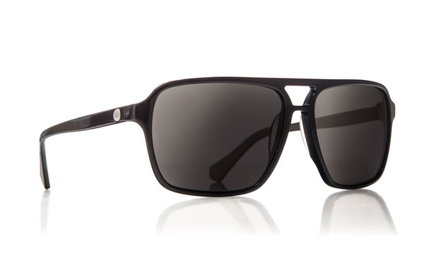 Dragon - Passport Jet Black / Grey Sunglasses