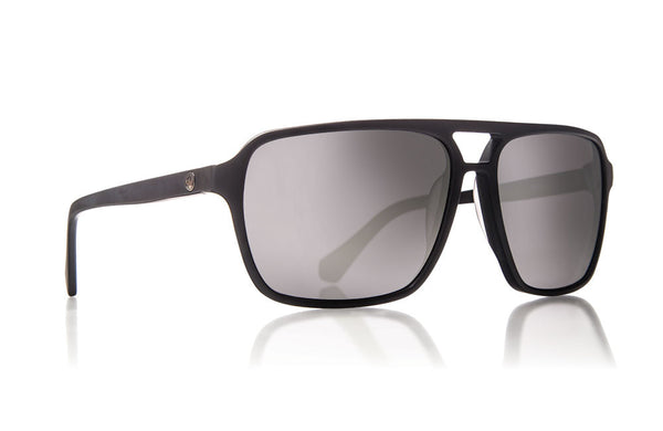 Dragon - Passport Matte Black / Silver Ion Sunglasses