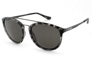 Peppers - Wicket Shiny Grey Sunglasses / Smoke Lenses