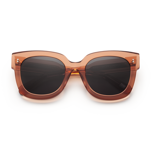 CHiMi - #008 54mm Peach Sunglasses / Black Lenses
