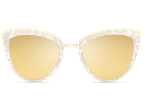Quay My Girl Pearl / Gold Sunglasses