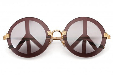 Wildfox - Pearl Deluxe Peach Sunglasses