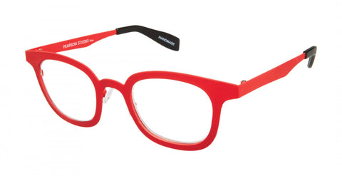 Scojo New York - Pearson Street Tango Red Reader Eyeglasses / +2.50 Lenses