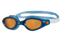 Zoggs Phantom Elite Polarized Ultra Blue Swim Goggles