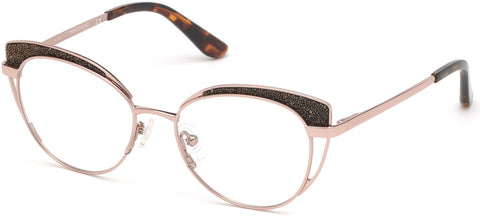 Marciano - GM0343 Shiny Rose Gold Eyeglasses / Demo Lenses