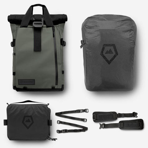 WANDRD - PRVKE 21 Photography Bundle Wasatch Green Backpack