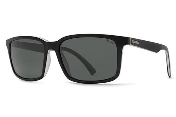 VonZipper - Pinch Black Crystal PBU Sunglasses, Wildlife+Vintage Polarized Lenses