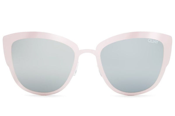 Quay Super Girl Pink / Silver Sunglasses