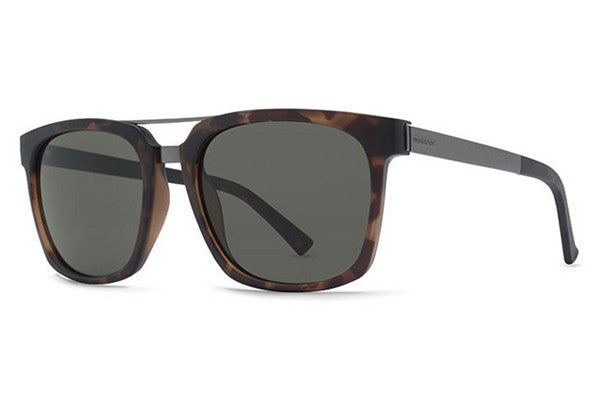 VonZipper - Plimpton Tort TOR Sunglasses, Grey Lenses