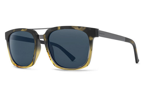 VonZipper - Plimpton Black Tort Buff Fade BTY Sunglasses, Navy Lenses