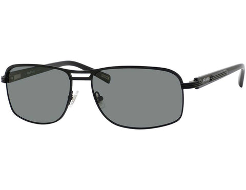 Fossil - Mario  Matte Black  Sunglasses / Green Polarized  Lenses