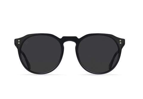 Raen - Remmy Black Matte Brindle Tortoise Sunglasses / Black Polarized Lenses