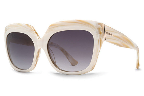 VonZipper - Poly White Marble MWB Sunglasses, Bronze Lenses