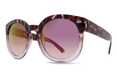 Dot Dash - Pool Party Tortoise Fade TFP Sunglasses, Pink Lenses
