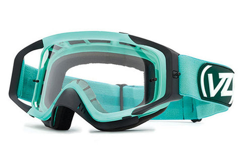 VonZipper - Porkchop Teal / Smoke Grey Chrome TEL Moto Goggles