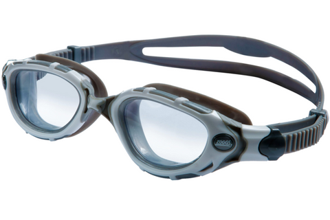 Aqua Sphere Kaiman Regular Fit Translucent Swim Goggles / Clear Lenses