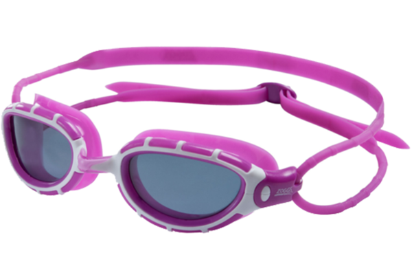 Zoggs Predator Women's Polarized Purple Swim Goggles