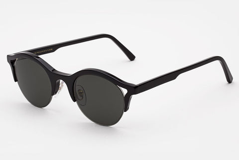 Super - Filo Black Sunglasses