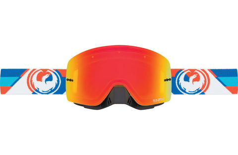 Dragon - NFXs Shear MX Goggles / Yellow Red Ion + Clear Lenses