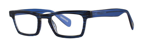 Scojo - Brewer Street Seaboard Blue Reader Eyeglasses / +2.00 Lenses