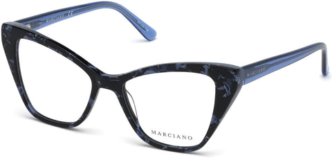 Marciano - GM0328 Blue Eyeglasses / Demo Lenses