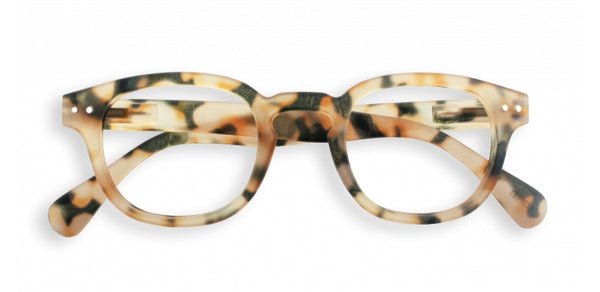 Izipizi - #C Light Tortoise Reader Eyeglasses / +1.50 Lenses
