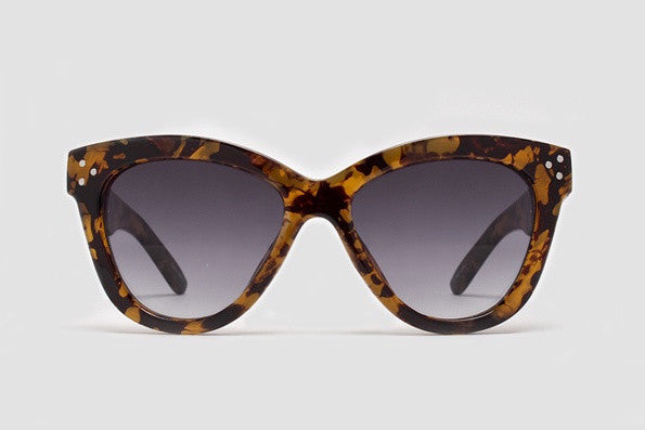 Quay Summer Fling Leopard / Brown Sunglasses