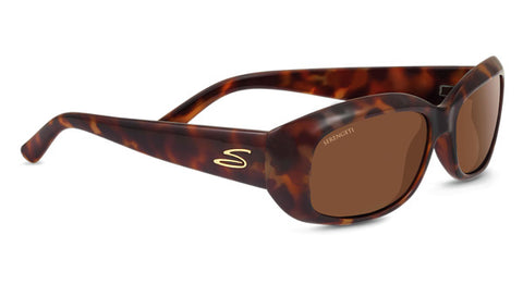 Serengeti - Bianca Red Moss Tortoise Sunglasses / Polarized Lenses