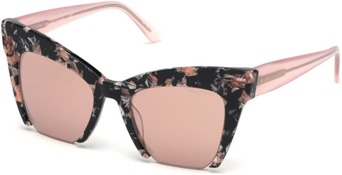 Marciano - GM0785 Havana Sunglasses / Bordeaux Mirror Lenses