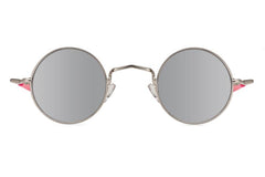 Spitfire - Chemistry Silver Sunglasses / Silver Mirror Lenses