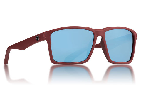 Dragon - Method Matte Crystal Redwood Sunglasses / Sky Blue Ion Lenses