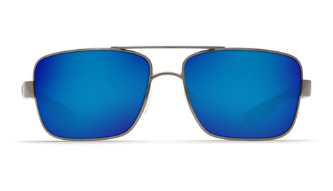 1ae3635e396 Costa - North Turn Gunmetal + Matte Black Sunglasses   Blue Polarized Glass  Lenses