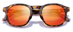 Sunski - Foothills Tortoise Sunglasses / Fire Polarized Lenses