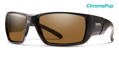 Smith - Transfer XL Matte Tortoise Sunglasses / ChromaPop Polarized Brown Lenses